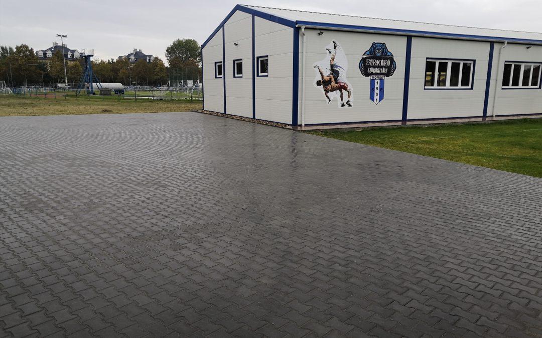 Újabb fejlesztés a Balassi utcai sporttelepen