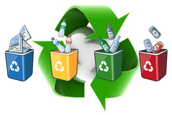 Szelektív hulladékgyűjtés a sportpályán is