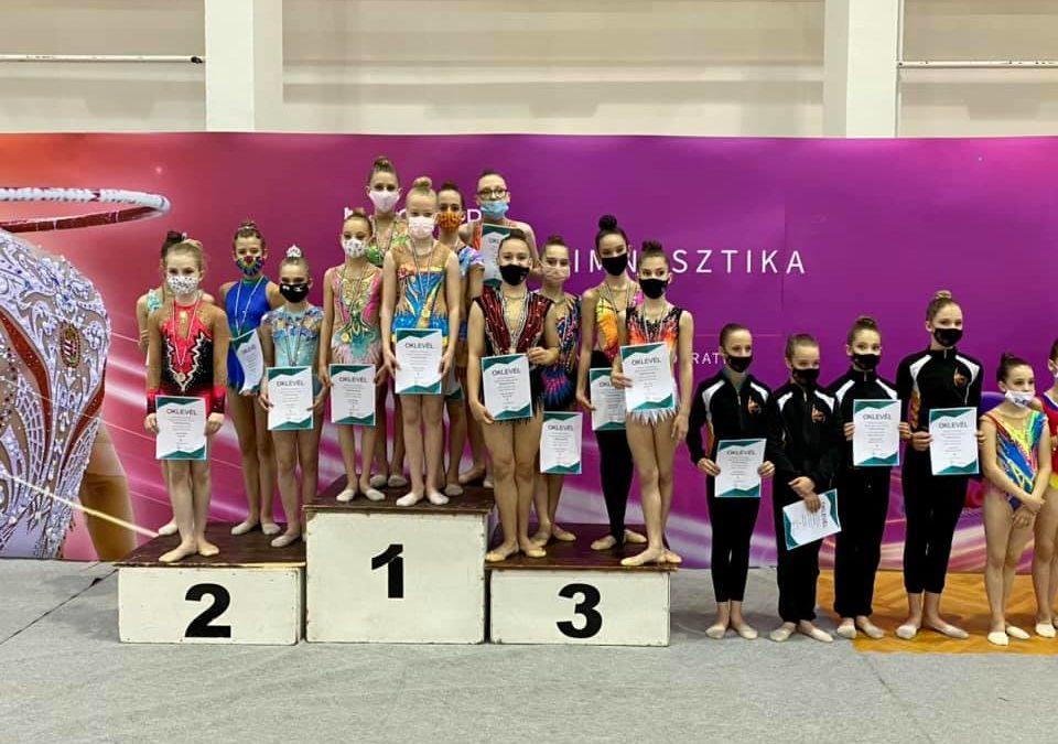 Vidékbajnokságon szerepeltek az RG szakosztály tagjai